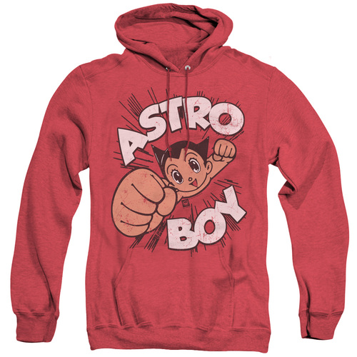 Image for Astro Boy Heather Hoodie - Flying