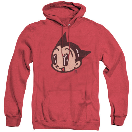 Image for Astro Boy Heather Hoodie - Face