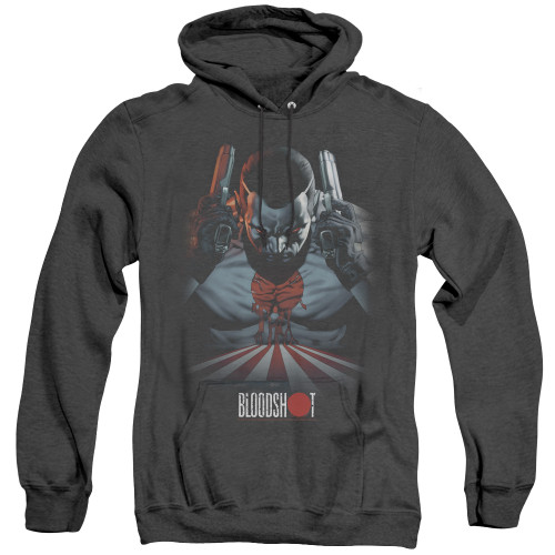 Image for Bloodshot Heather Hoodie - Blood Lines