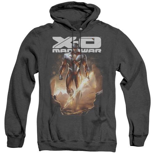 Image for X-O Manowar Heather Hoodie - Lightning Sword