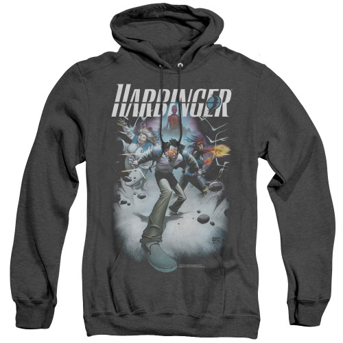 Image for Harbinger Heather Hoodie - Flame Eyes