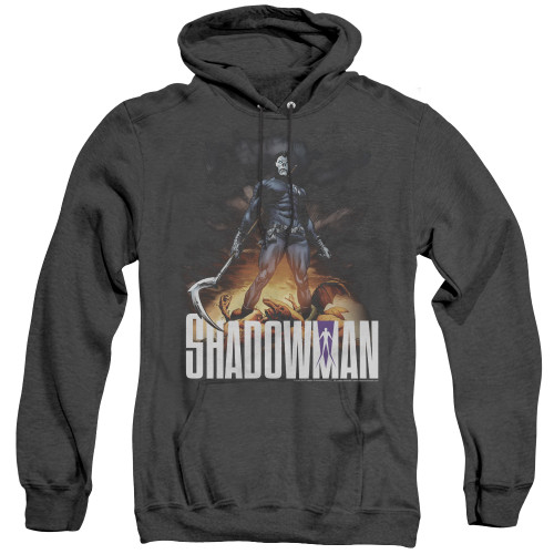 Image for Shadowman Heather Hoodie - Victory