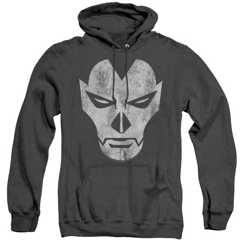Image for Shadowman Heather Hoodie - Face