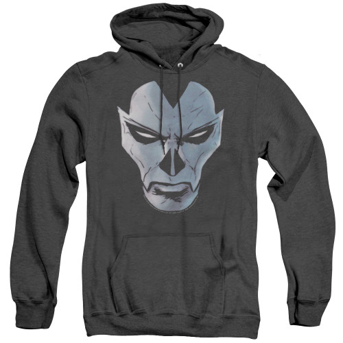 Image for Shadowman Heather Hoodie - Comic Face