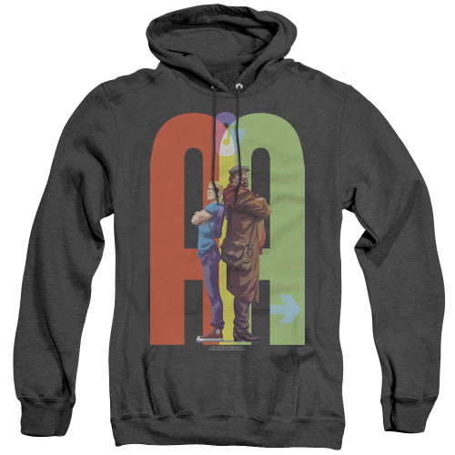 Image for Archer & Armstrong Heather Hoodie - Back to Back