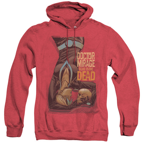 Image for Doctor Mirage Heather Hoodie - Talks to the Dead