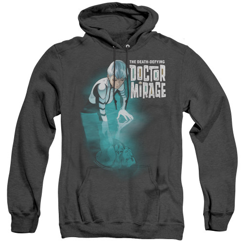 Image for Doctor Mirage Heather Hoodie - Crossing Over