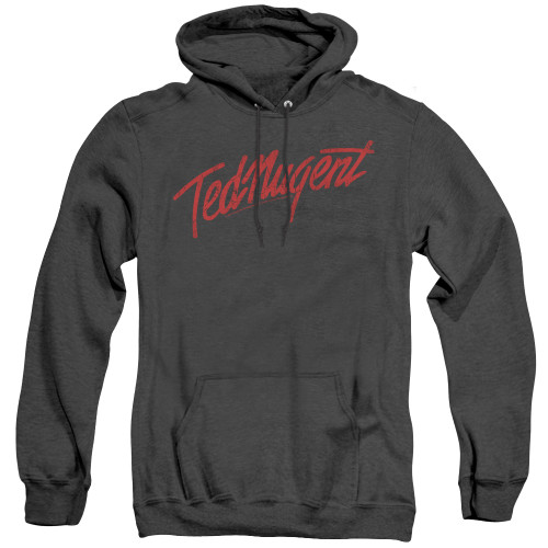 Image for Ted Nugent Heather Hoodie - Distress Logo
