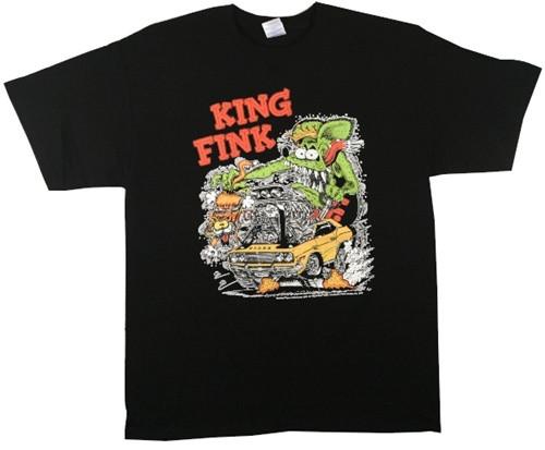 Image Closeup for Rat Fink King Fink T-Shirt