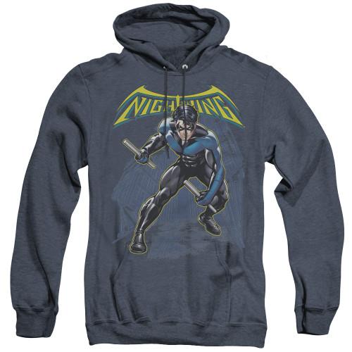Image for Batman Heather Hoodie - Nightwing