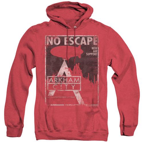 Image for Arkham City Heather Hoodie - No Escape