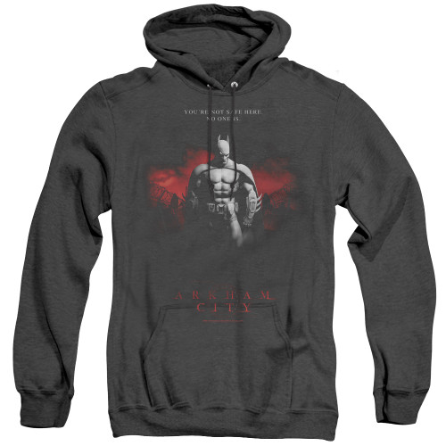 Image for Arkham City Heather Hoodie - Standing Strong