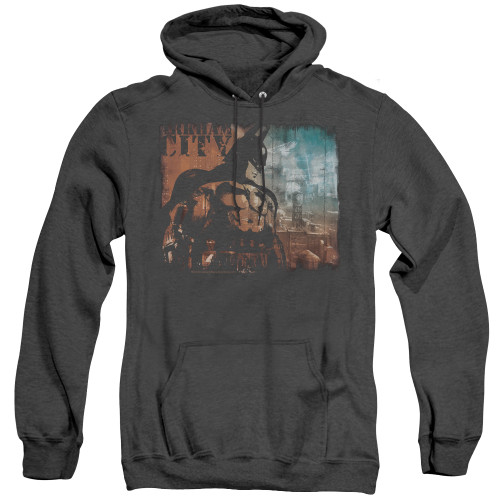 Image for Arkham City Heather Hoodie - City Knockout