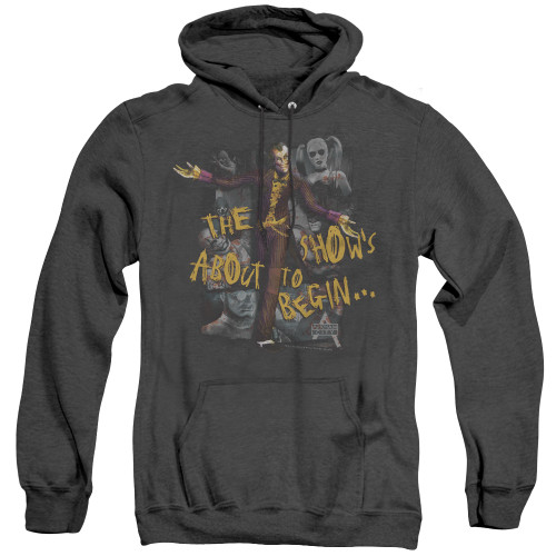 Image for Arkham City Heather Hoodie - About To Begin