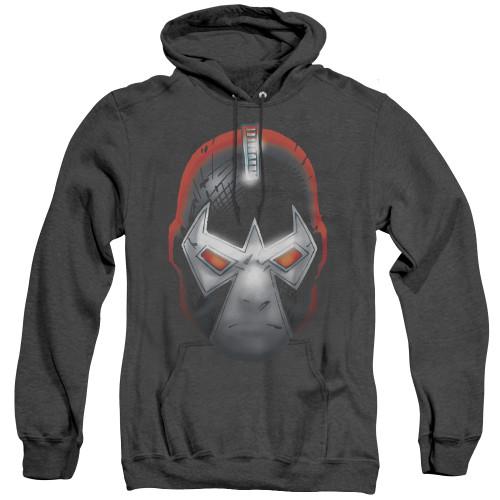 Image for Batman Heather Hoodie - Bane Head