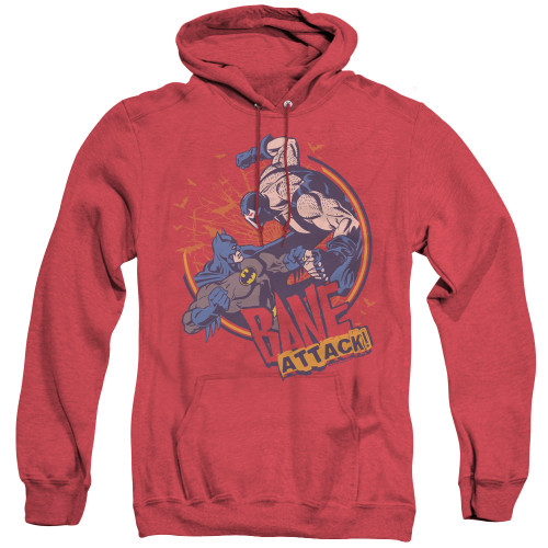 Image for Batman Heather Hoodie - Bane Attack!