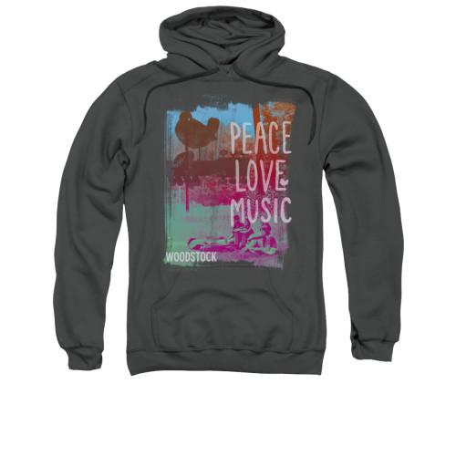 Woodstock Hoodie - Peace Love Music