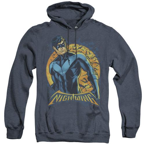Image for Batman Heather Hoodie - Nightwing Moon