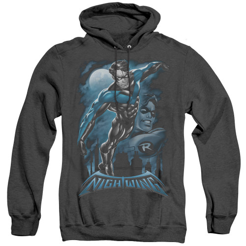 Image for Batman Heather Hoodie - All Grown Up