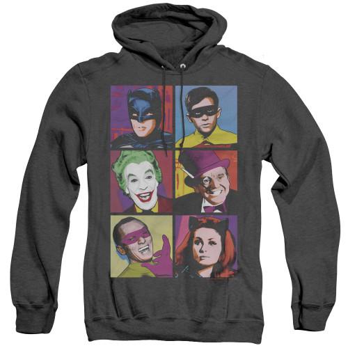Image for Batman Classic TV Heather Hoodie - Pop Cast