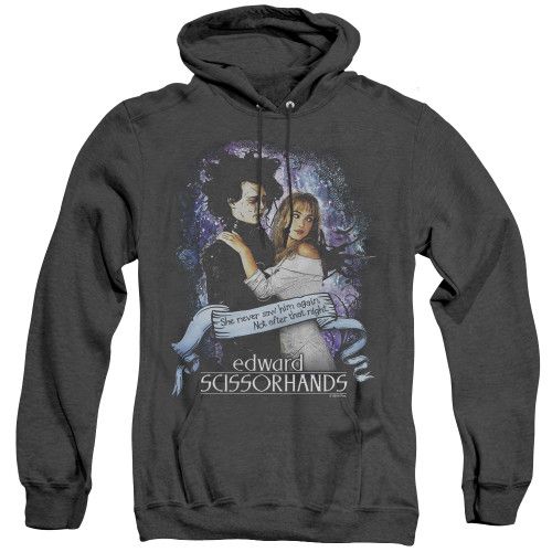 Image for Edward Scissorhands Heather Hoodie - That Night