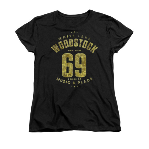 Image for Woodstock Woman's T-Shirt - White Lake