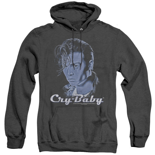 Image for Cry Baby Heather Hoodie - King Cry Baby