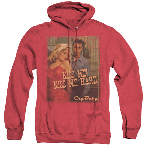 Image for Cry Baby Heather Hoodie - Kiss Me