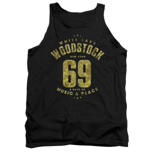 Image for Woodstock Tank Top - White Lake