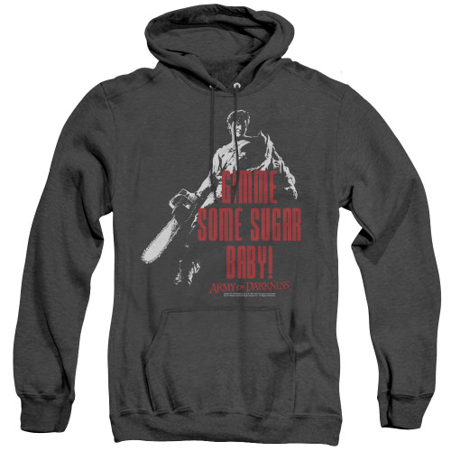 Image for Army Of Darkness Heather Hoodie - Sugar