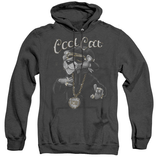 Image for Pink Panther Heather Hoodie - Cool Cat