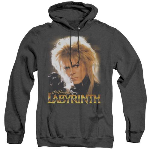 Image for Labyrinth Heather Hoodie - Jareth