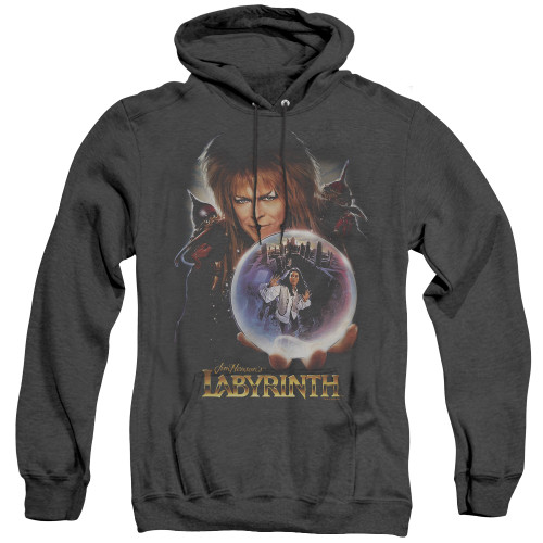 Image for Labyrinth Heather Hoodie - I Have A Gift