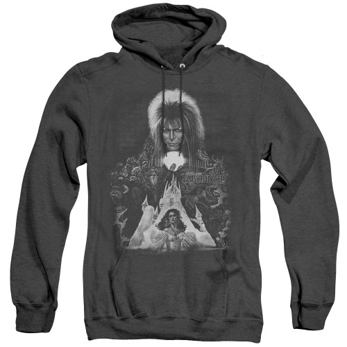 Image for Labyrinth Heather Hoodie - Castle