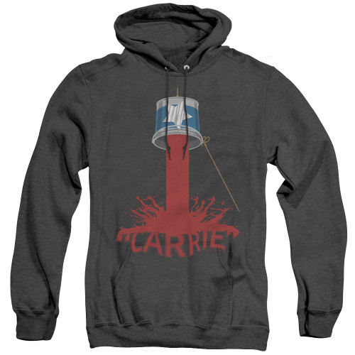 Image for Carrie Heather Hoodie - Bucket Of Blood