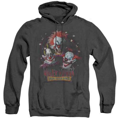 Image for Killer Klowns From Outer Space Heather Hoodie - Killer Klowns