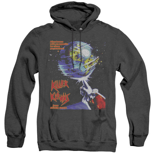 Image for Killer Klowns From Outer Space Heather Hoodie - Invaders