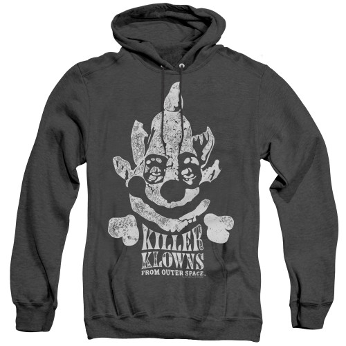 Image for Killer Klowns From Outer Space Heather Hoodie - Kreepy