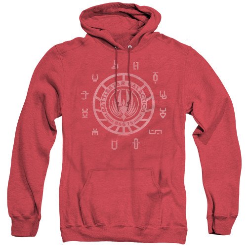Image for Battlestar Galactica Heather Hoodie - Colonies