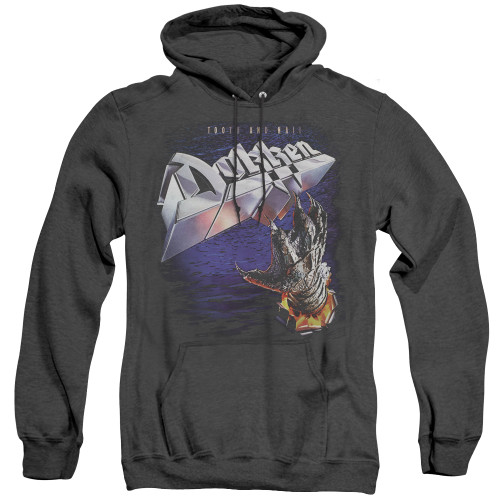 Image for Dokken Heather Hoodie - Tooth and Nail