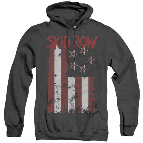 Image for Skid Row Heather Hoodie - Flagged