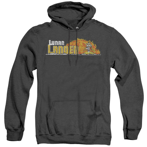 Image for Atari Heather Hoodie - Lunar Lander Marquee