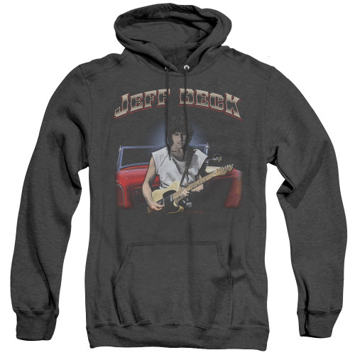 Image for Jeff Beck Heather Hoodie - Jeff's Hotrod