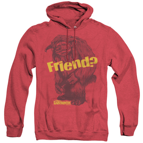 Image for Labyrinth Heather Hoodie - Ludo Friend