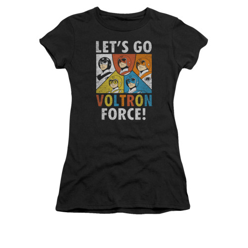 Image for Voltron Girls T-Shirt - Let's Go