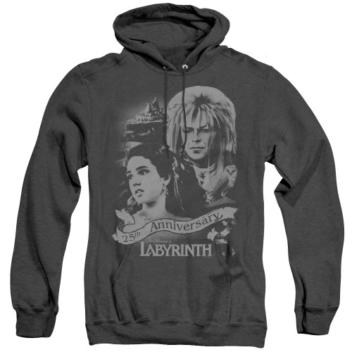 Image for Labyrinth Heather Hoodie - Anniverary