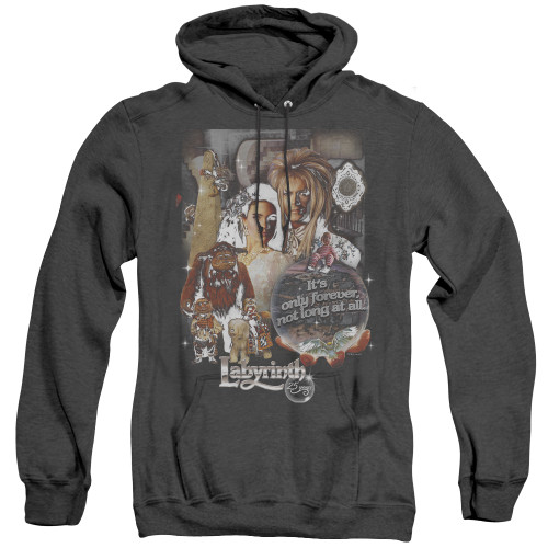Image for Labyrinth Heather Hoodie - 25 Years of Magic