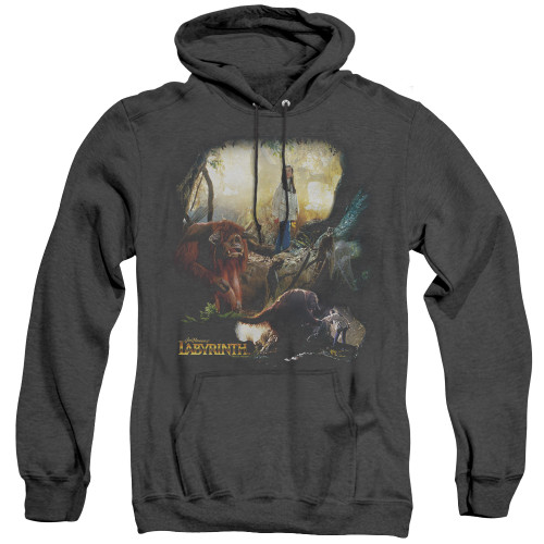 Image for Labyrinth Heather Hoodie - Sarah & Ludo