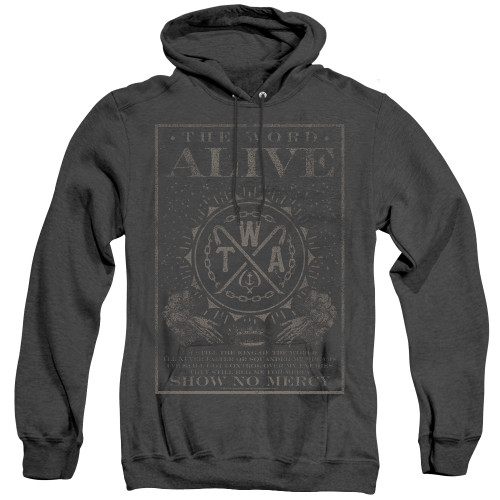 Image for The Word Alive Heather Hoodie - Show No Mercy