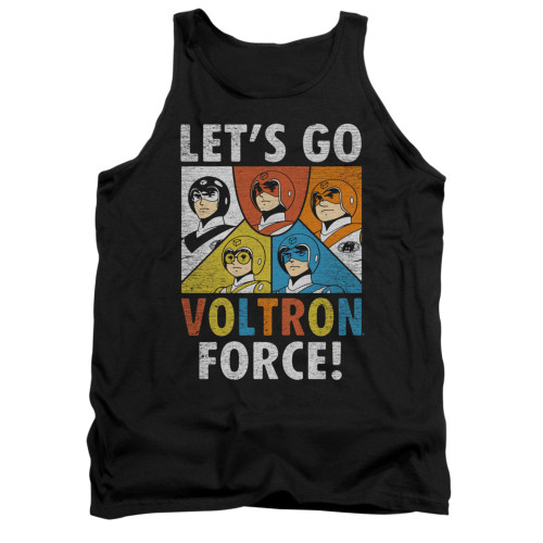 Image for Voltron Tank Top - Let's Go